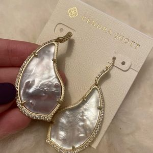 Kendra Scott Tinley Gold Plated Brass Ivory Pearl